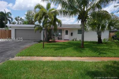 Fort Lauderdale Single Family Home For Sale: 3565 SW 17th St