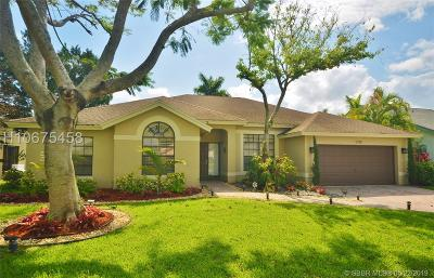 Cooper City Single Family Home For Sale: 5706 SW 89th Way