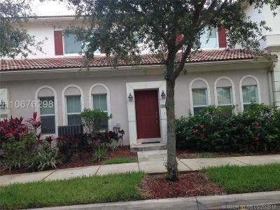 Miramar Condo/Townhouse For Sale: 2308 SW 100th Ter
