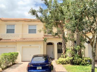 Miramar Condo/Townhouse Active Under Contract: 8520 SW 27th St #103