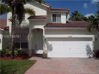 Miramar Condo/Townhouse Active Under Contract: 18749 SW 28th St #18749