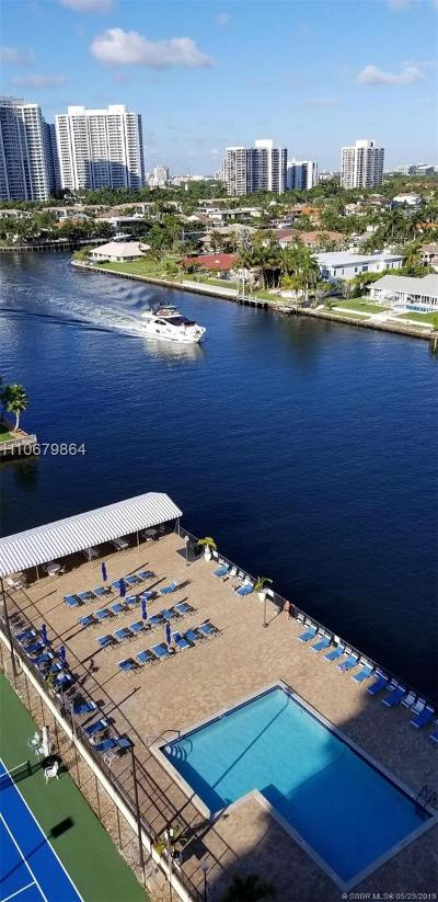 Hallandale Condo/Townhouse For Sale: 2017 S Ocean Dr #1006