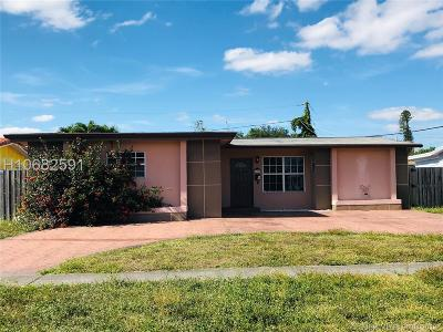 Sunrise Single Family Home For Sale: 8305 NW 25th St