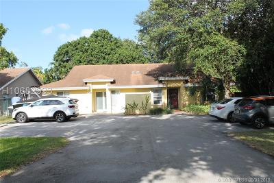 Dania Beach Single Family Home Active Under Contract: 4944 SW 26th Ter
