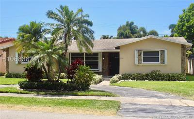 Hollywood Single Family Home For Sale: 1246 Arthur St
