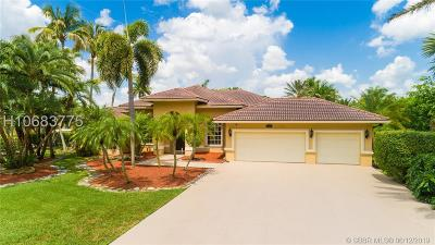 Davie Single Family Home For Sale: 12465 SW 34th Pl