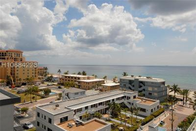 Hollywood Condo/Townhouse For Sale: 3111 N Ocean Dr #801