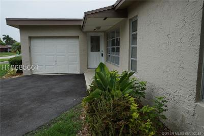 Sunrise Single Family Home For Sale: 11951 NW 31 Street