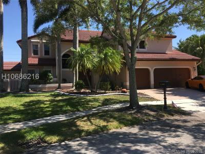 Pembroke Pines Single Family Home For Sale: 1345 SW 173rd Way