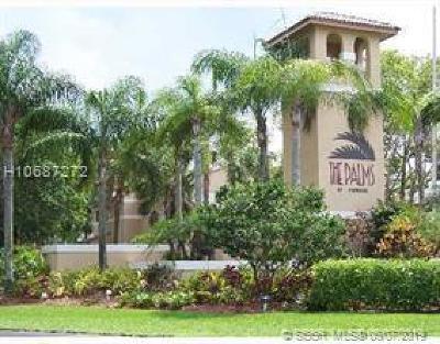 Pembroke Pines Condo/Townhouse For Sale: 9491 S Palm Cir S #102