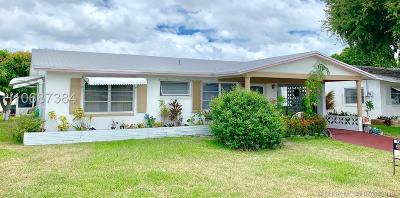 Tamarac Single Family Home For Sale: 4900 NW 48th Ave
