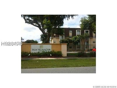 Dania Beach Condo/Townhouse For Sale: 500 NE 2nd St #308