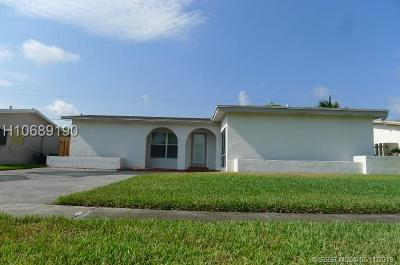 Sunrise Single Family Home Active Under Contract: 9080 NW 25th St