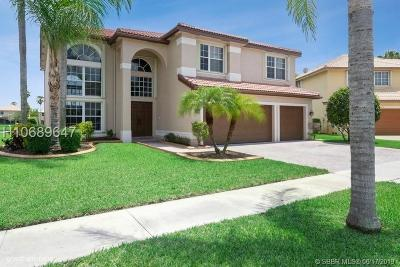 Miramar Single Family Home Active Under Contract: 18188 SW 24th St