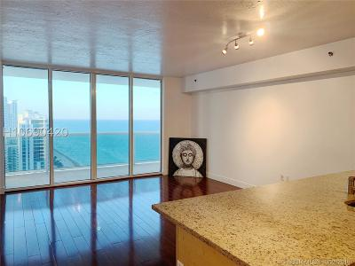 Hallandale Condo/Townhouse For Sale: 1830 S Ocean Dr #2712
