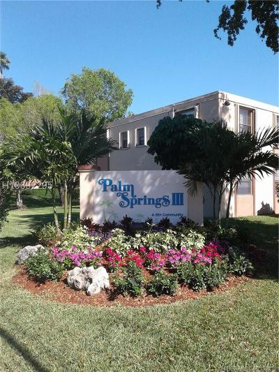Margate FL Condo/Townhouse For Sale: $95,500