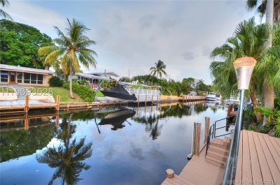 Fort Lauderdale Single Family Home For Sale: 2412 Marathon Ln
