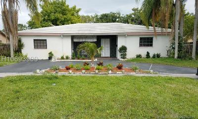 Lauderhill Single Family Home Active Under Contract: 2070 NW 47th Ave