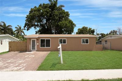 Fort Lauderdale FL Single Family Home For Sale: $255,000