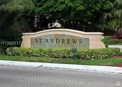 Miramar Condo/Townhouse For Sale: 12154 Saint Andrews Pl #102