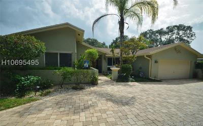 Cooper City Single Family Home Active Under Contract: 4006 W Sailboat Drive