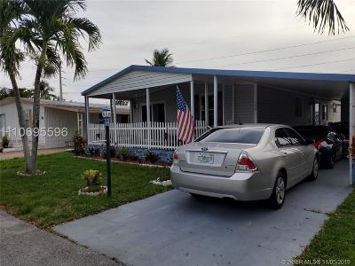 Davie Single Family Home For Sale: 10550 State