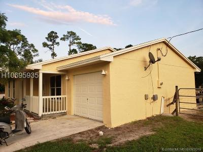 Loxahatchee FL Single Family Home For Sale: $324,990
