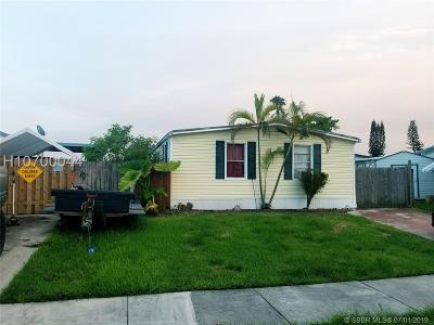Pembroke Pines Single Family Home For Sale: 21750 NW 3rd St