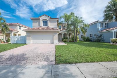 Miramar Single Family Home Active Under Contract: 3712 SW 165th Ave