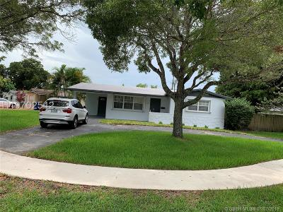 Cooper City Single Family Home For Sale: 5101 SW 92nd Ave