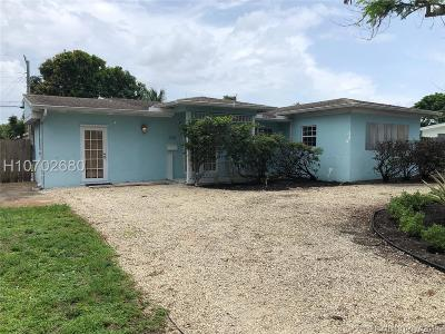 Fort Lauderdale FL Single Family Home Active Under Contract: $307,900