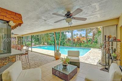 Plantation Single Family Home Active Under Contract: 11440 SW 3rd St