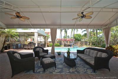 Hollywood Single Family Home For Sale: 1430 Polk St