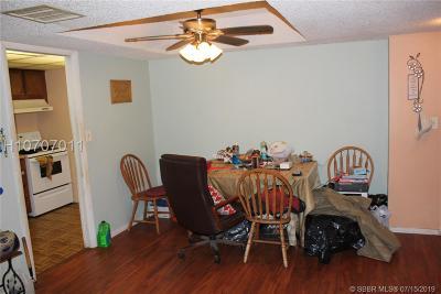 Lauderhill Condo/Townhouse For Sale: 3740 Inverrary Dr #1A