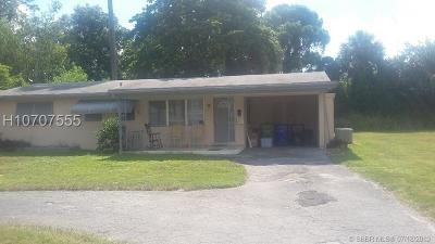 Fort Lauderdale FL Single Family Home For Sale: $310,000