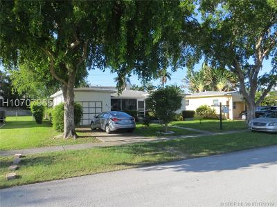 Dania Beach Single Family Home For Sale: 313 SE 3rd Ter
