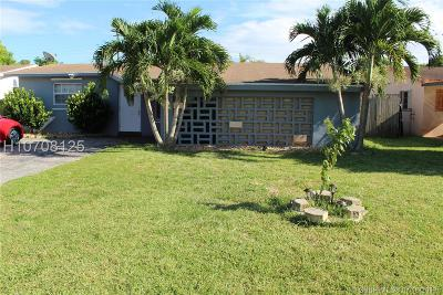 Miramar Single Family Home Active Under Contract: 7932 Orleans St