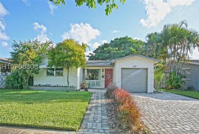 Hollywood Single Family Home For Sale: 624 S Rainbow Dr