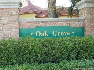 Davie Single Family Home For Sale: 9410 Oak Grove Cir