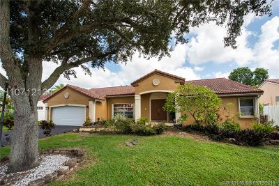 Single Family Home For Sale: 13365 NW 11th Pl