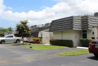 Plantation Condo/Townhouse For Sale: 6844 NW 5th St #112