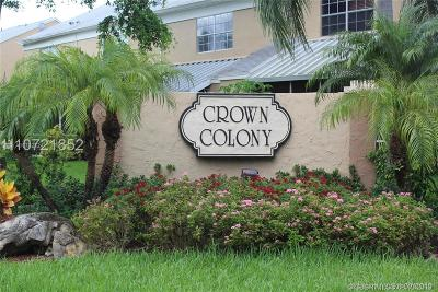 Cooper City Condo/Townhouse Active Under Contract: 2812 S Edgehill Ln