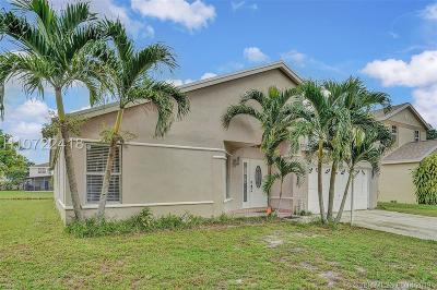 Miramar Single Family Home Active Under Contract: 9601 Encino St