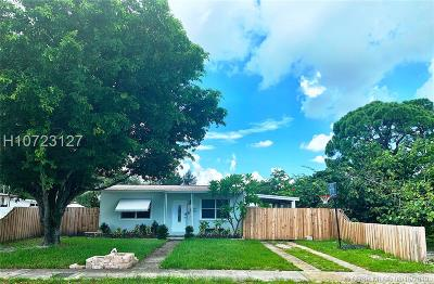 Fort Lauderdale FL Single Family Home For Sale: $239,000