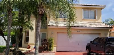 Pembroke Pines Single Family Home Active Under Contract: 20891 NW 18th St