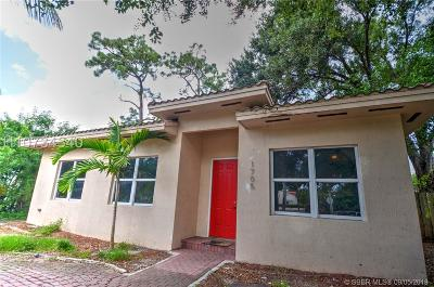 Fort Lauderdale Single Family Home For Sale: 1705 SW 14th Ct