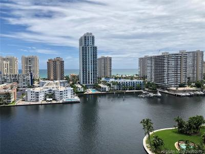 Hallandale Condo/Townhouse For Sale: 137 Golden Isles Dr #1202