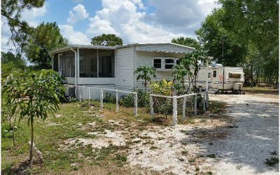Lake Placid, Avon Park, Sebring, Lorida Single Family Home For Sale: 269 Arbuckle Branch Rd