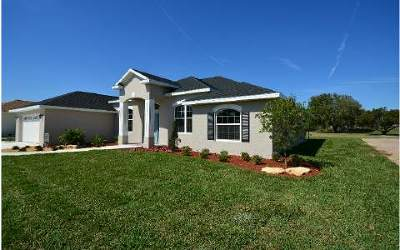 Sebring Single Family Home For Sale: 4840 Myrtle Beach Dr