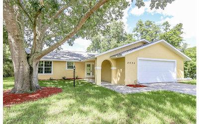 Sebring Single Family Home For Sale: 3803 Tangier St